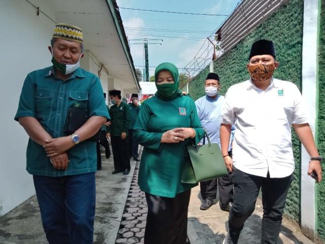 Resmi Diusung PKB di Pilkada Kabupaten Malang, Lathifah: Saya Deg-degan  (354198)