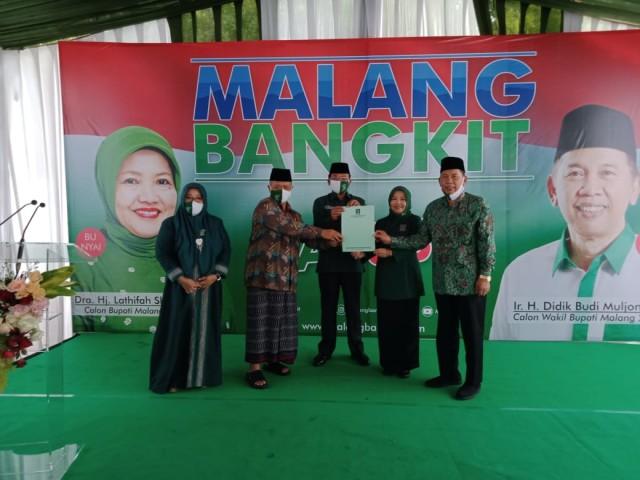 Resmi Diusung PKB di Pilkada Kabupaten Malang, Lathifah: Saya Deg-degan  (354199)