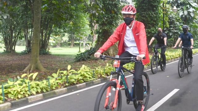 Jokowi Posting Koleksi Sepeda: Semuanya Buatan Indonesia (1)
