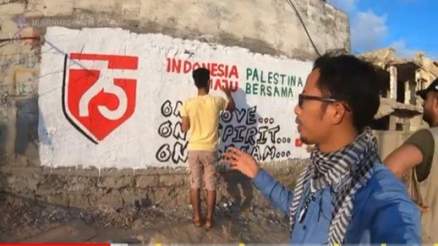 Meski Tengah Konflik dengan Israel, Warga Palestina Ikut Rayakan HUT ke-75 RI (1)