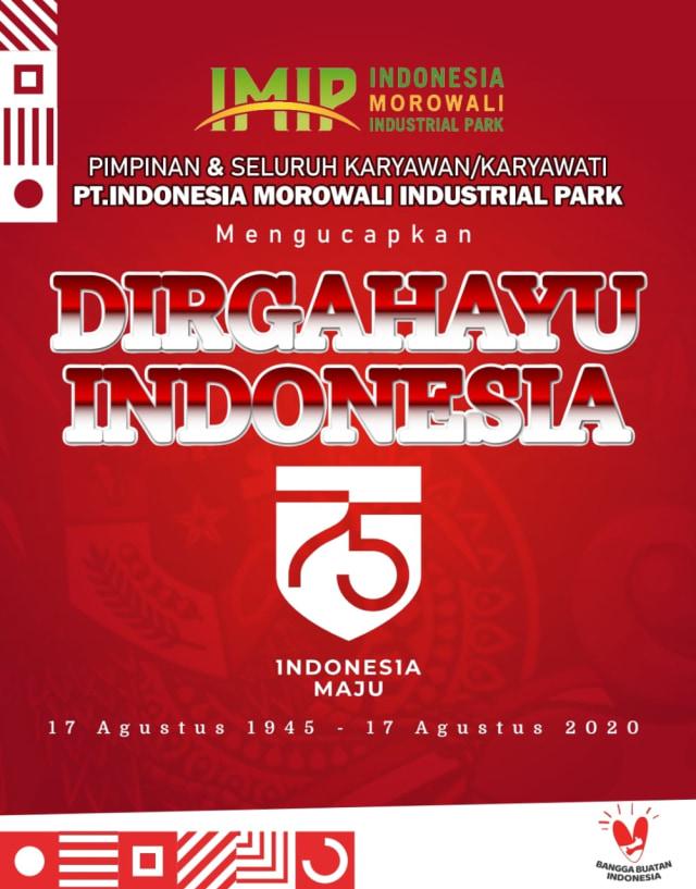 IMIP Dukung Indonesia Maju (367691)