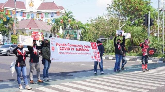 Begini Merdeka ala Honda Community Jatim di Kota Pahlawan (579090)