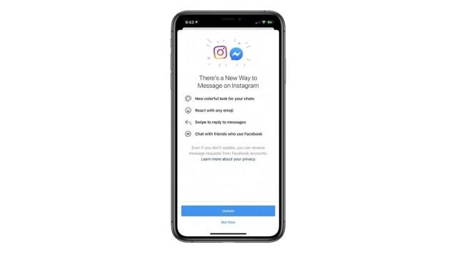 Pengguna Instagram di Indonesia Kini Bisa Kirim DM ke Facebook Messenger (83277)