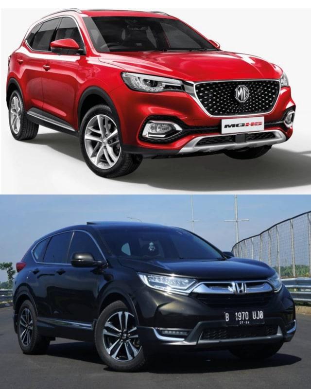 MG HS vs Honda CR-V, Mana yang Menarik untuk Dipinang? (1102497)