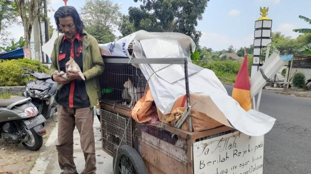 Kisah Pemulung di Yogya Hidup Nomaden, tapi Rela Rawat Kucing Jalanan yang Sakit (207391)