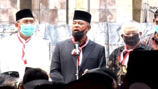 Letjen Dudung: AY Nasution Merasa Berdosa Buat Patung Soeharto-AH Nasution (26948)