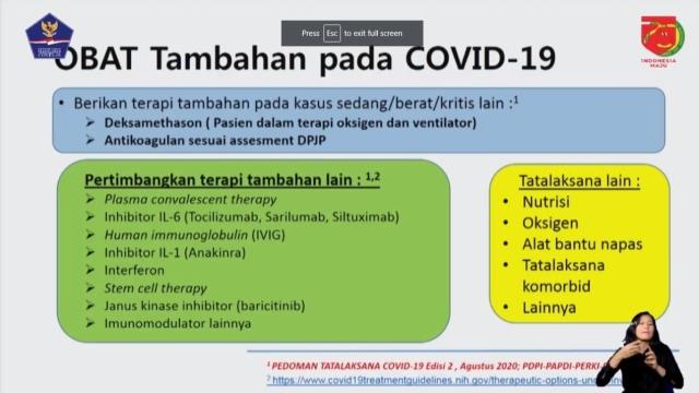 Doni Monardo Pastikan Ketersediaan Obat untuk Pasien Corona Aman (68899)