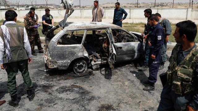 Foto: Serangan Roket di Hari Kemerdekaan Afghanistan (362474)