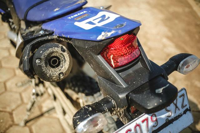 Alasan Teknis Mengapa Posisi Knalpot Yamaha WR 155 R Ada di Sebelah Kiri (88673)