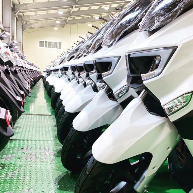 Mirip Yamaha NMax, Ini Motor Listrik MBI yang Akan Dijual di Indonesia   (30104)
