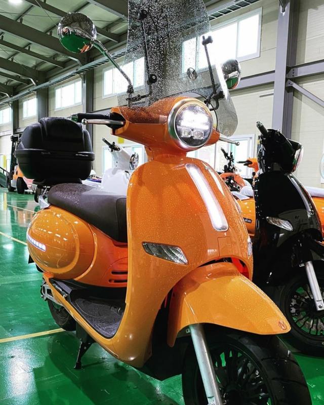 Motor Listrik Asal Korsel Bakal Diproduksi di Indonesia, Mulai Kapan?  (33487)