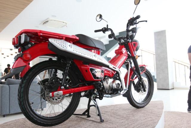 Kapan AHM Kirim Honda CT125 ke Konsumen?  (478669)