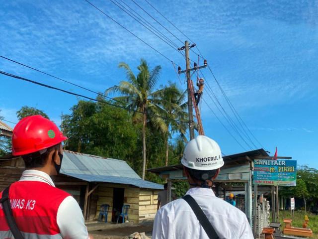 PLN Gerak Cepat Pulihkan Kelistrikan Pasca Gempa Bengkulu (287705)