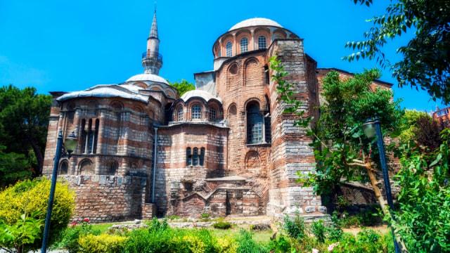 Setelah Hagia Sophia, Erdogan Ubah Bekas Gereja Lain Jadi Masjid (140107)