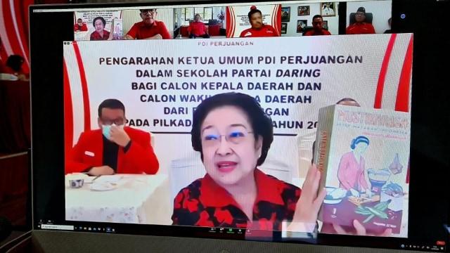 Arahan Megawati ke 129 Calon Kepala Daerah PDIP: Tiru Jokowi, Baca Buku Soekarno (752561)
