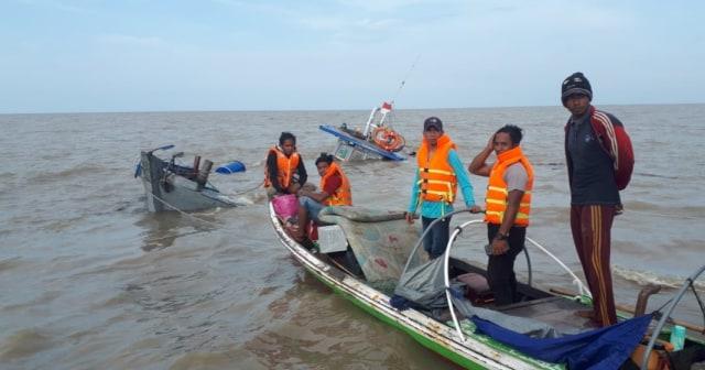 Kapal Bermuatan Kelapa Tujuan Batam Tenggelam di Perairan Timur Jambi (43179)