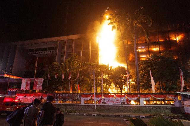 Fakta Baru soal Kebakaran Dahsyat di Kejaksaan Agung (7)