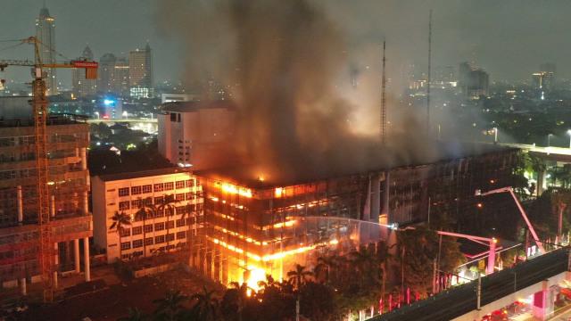 Fakta Baru soal Kebakaran Dahsyat di Kejaksaan Agung (4)