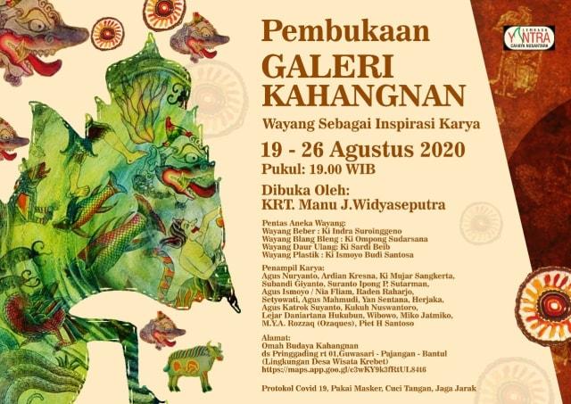 Omah Budaya Kahangnan Resmi Dibuka, Jadi Galeri Wayang Pertama di Jogja (53692)