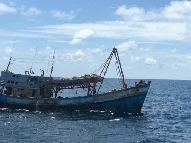 PSDKP Batam Tangkap 2 Kapal Asing Pencuri Ikan di Natuna (382749)