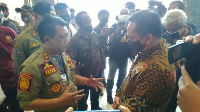 Cegah Pengunjung Kembali Membeludak, Videotron Mal Tentrem Semarang Dimatikan (4668)