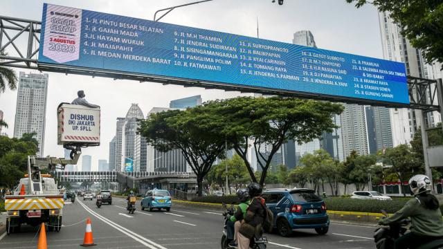 Sistem Ganjil Genap Belum Berlaku di Jakarta, ETLE Tetap Beroperasi (29263)