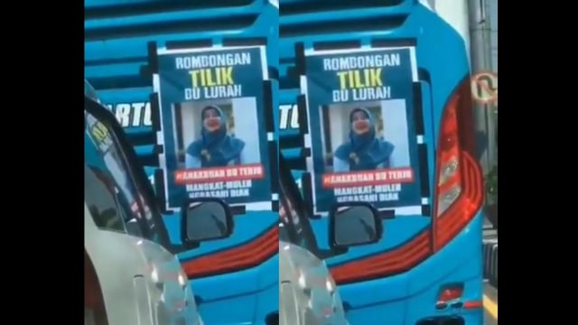 Viral Video 'Rombongan Bu Tejo' Naik Bus, Warganet: Anti-Tilang (300168)