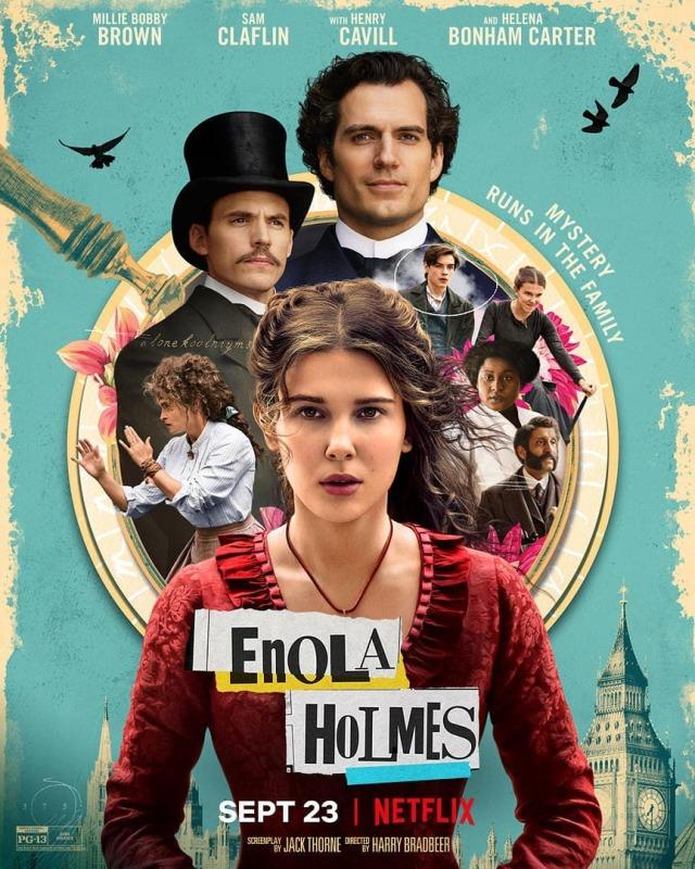 Melihat Aksi Millie Bobby Brown di Trailer Enola Holmes (240212)