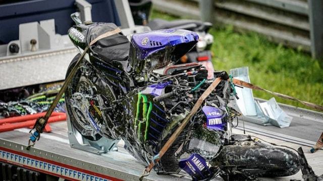Ini Penyebab Masalah Rem Motor Vinales di MotoGP Styria  (177774)
