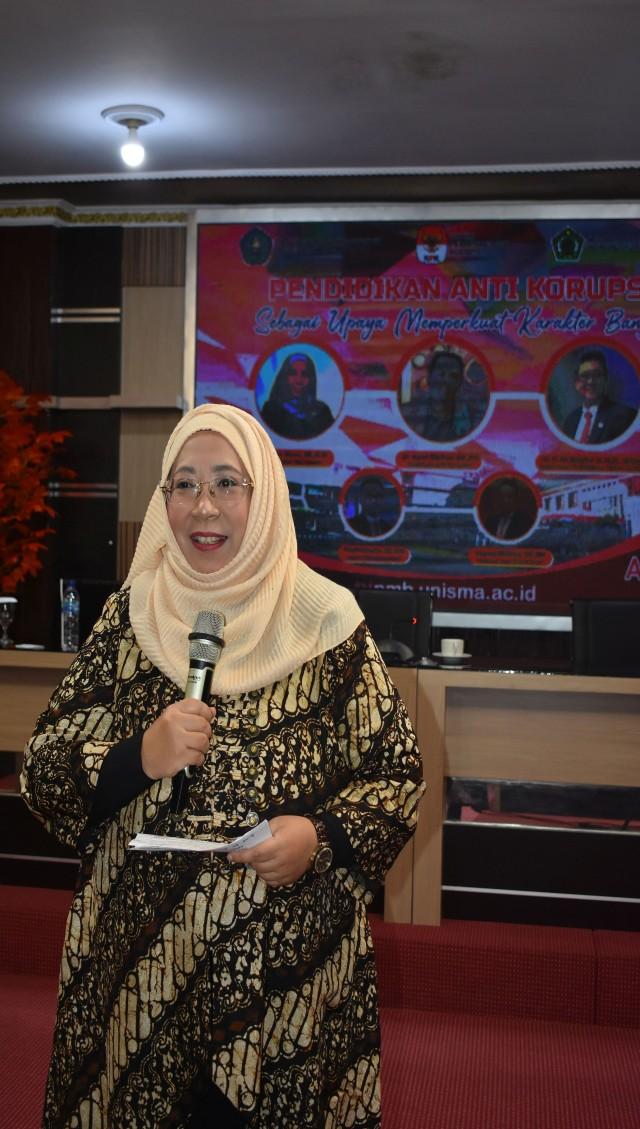 FEB UNISMA Bahas Trading in Influnce Dalam Pendidikan Anti Korupsi (586941)