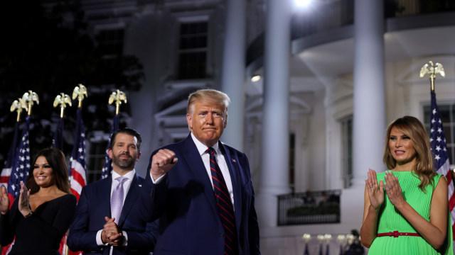 Donald Trump Resmi Diusung Partai Republik sebagai Capres Amerika Serikat (220626)