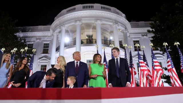 Donald Trump Resmi Diusung Partai Republik sebagai Capres Amerika Serikat (220625)