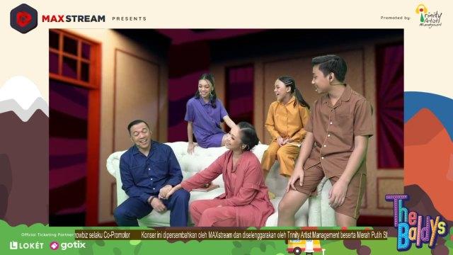 Kompaknya Naura dan Keluarga Memulai Konser Virtual Semesta Cinta (116366)