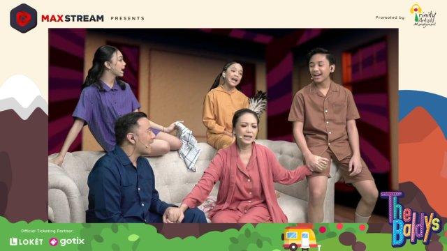 Kompaknya Naura dan Keluarga Memulai Konser Virtual Semesta Cinta (116368)