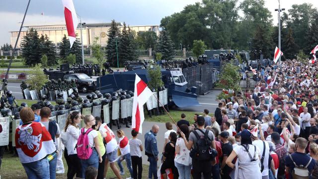 Tak Akui Pelantikan Presiden Lukashenko, Uni Eropa Tinjau Ulang Hubungan (60871)