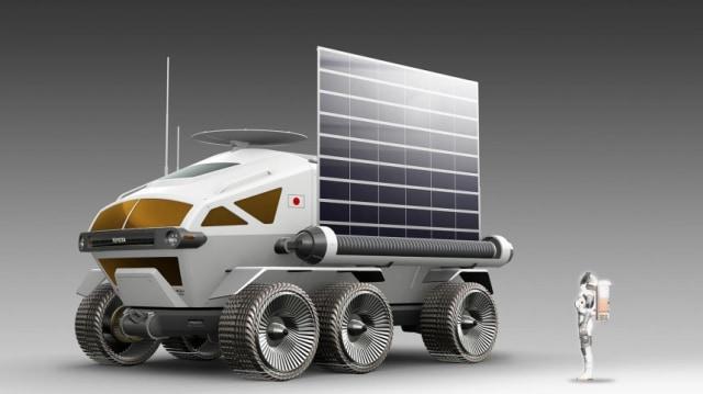 Lunar Cruiser, Kendaraan Toyota Pertama yang Siap Menjelajah Bulan (93623)