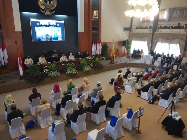 Rapat Paripurna Istimewa Hari Jadi Kuningan ke-522 Digelar Terbatas (28397)