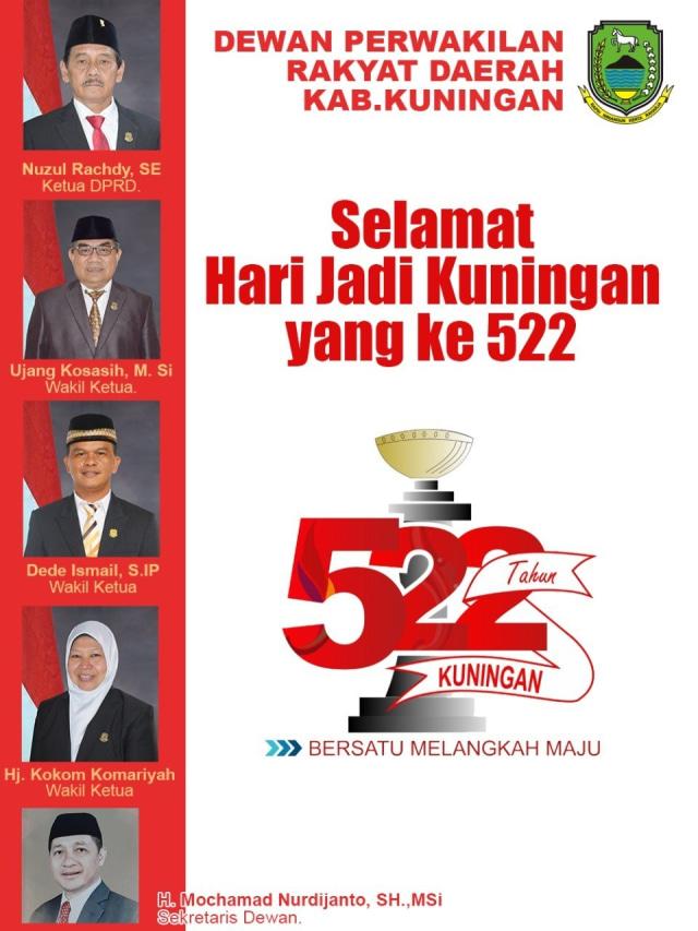 Rapat Paripurna Istimewa Hari Jadi Kuningan ke-522 Digelar Terbatas (28398)