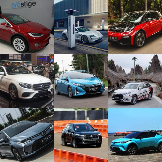Pilihan Mobil Listrik dan Hybrid di Indonesia, Termurah Rp 400 Jutaan (42146)