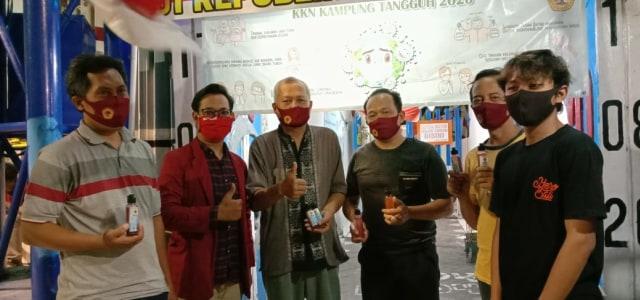 KKN Disaat Pandemi, Mahasiwa Untag Berbondong-bondong menjadi relawan Covid-19 (67938)