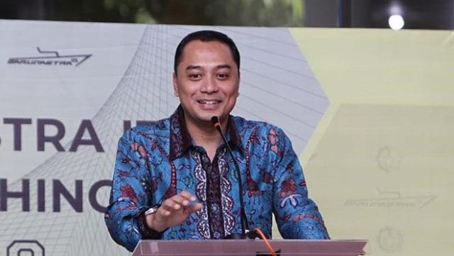 Adu Kuat Eri Cahyadi dan Machfud Arifin di Pilwalkot Surabaya (93062)