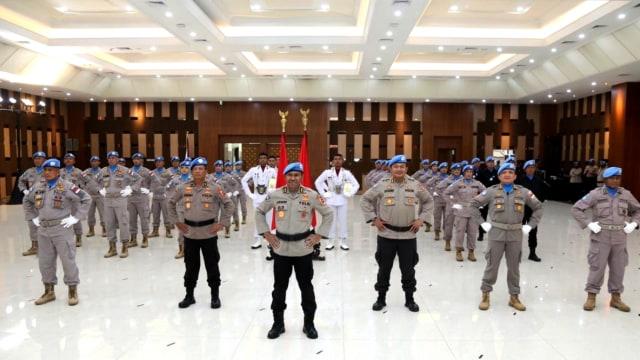 Idham Azis Lepas Satgas Garuda ke Sudan dan Afrika Tengah Untuk Misi PBB (32466)