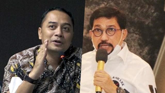 Adu Kuat Eri Cahyadi dan Machfud Arifin di Pilwalkot Surabaya (93061)