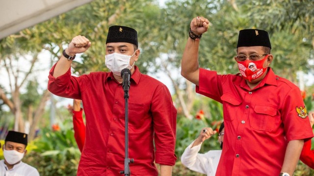 Restu Megawati untuk Eri Cahyadi di Pilwalkot Surabaya (131042)