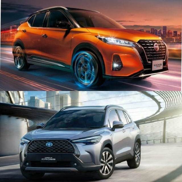 Nissan Kicks e-Power vs Toyota Corolla Cross Hybrid, Pilih yang Mana? (183605)