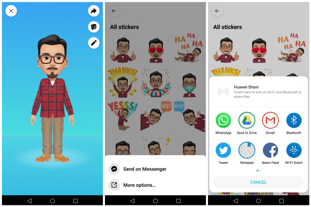 Begini Cara Pakai Avatar Facebook Jadi Foto Profil WhatsApp (31516)