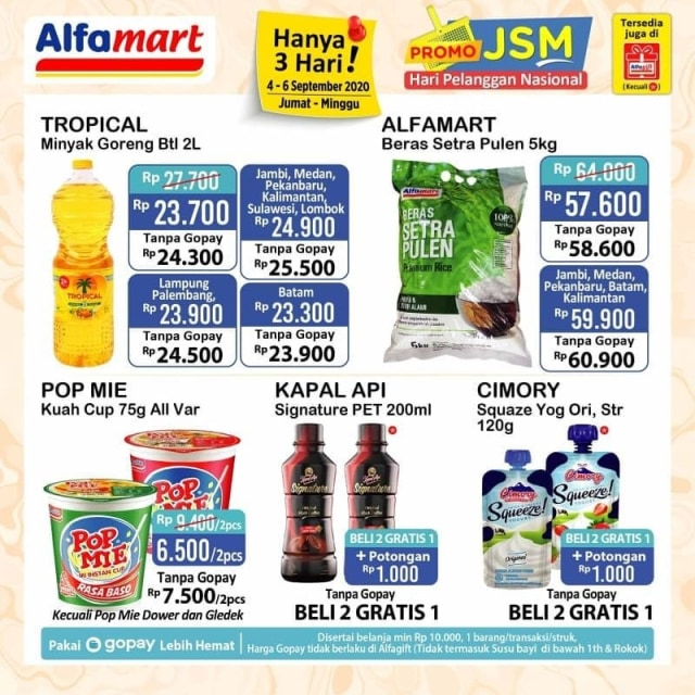 Katalog Promo Jsm Alfamart 4 6 September 2020 Kumparan Com
