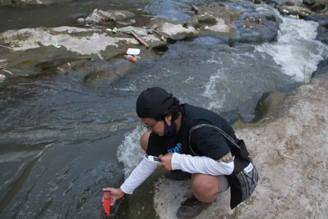 Foto: Pencemaran Mikroplastik, Sungai Brantas Kritis (291165)