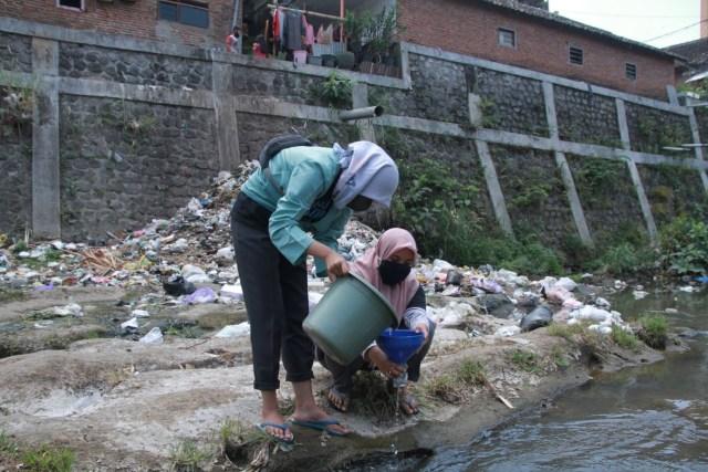 Foto: Pencemaran Mikroplastik, Sungai Brantas Kritis (291172)