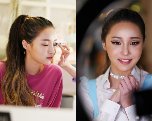 Intip Penampilan Yeonwoo ala Ariana Grande di Drama Touch, Yuk! (93580)